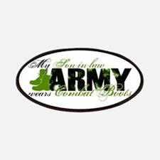 Son Law Combat Boots - ARMY Patches