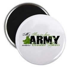 Son Law Combat Boots - ARMY Magnet