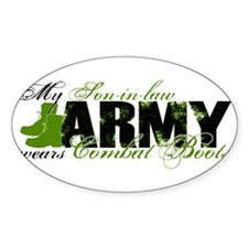 Son Law Combat Boots - ARMY Decal