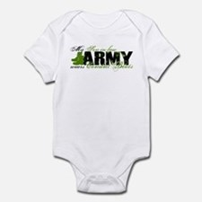 Son Law Combat Boots - ARMY Infant Bodysuit