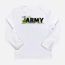Son Combat Boots - ARMY Long Sleeve Infant T-Shirt