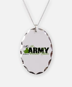 Son Combat Boots - ARMY Necklace