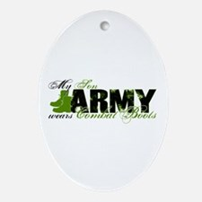 Son Combat Boots - ARMY Ornament (Oval)
