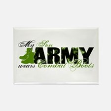 Son Combat Boots - ARMY Rectangle Magnet