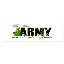Son Combat Boots - ARMY Bumper Sticker