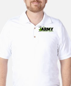 Son Combat Boots - ARMY T-Shirt