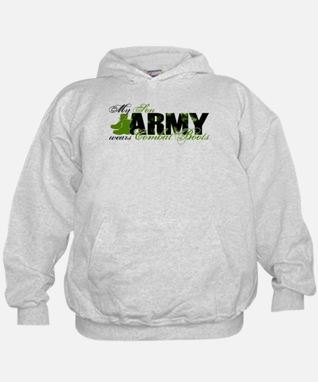 Son Combat Boots - ARMY Hoodie