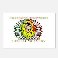 Rasta Lion Postcards (Package of 8)