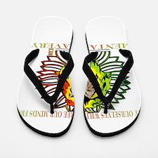 Rasta Lion Flip Flops