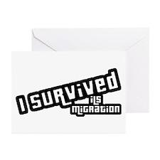 I Survived ILS Migration Greeting Cards (Pk of 10)