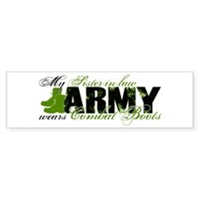 Sis Law Combat Boots - ARMY Car Sticker