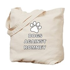 Dogs Against Mitt Romney 3 Tote Bag