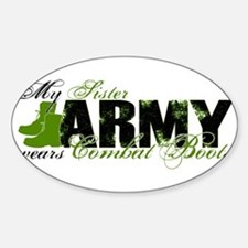 Sister Combat Boots - ARMY Decal