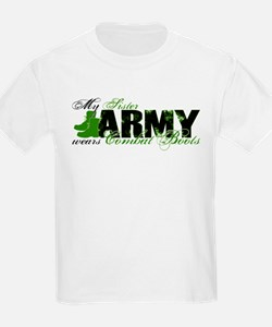 Sister Combat Boots - ARMY T-Shirt