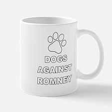 Dogs Against Mitt Romney 3 Mug