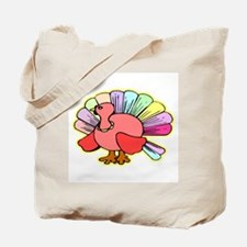 Turkey Cartoon Tote Bag