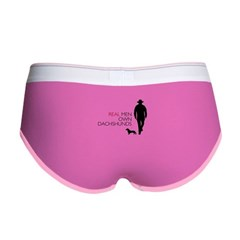 Real Men Own Dachshunds Women's Boy Brief