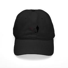 Real Men Own Dachshunds Black Cap