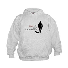 Real Men Own Dachshunds Hoodie
