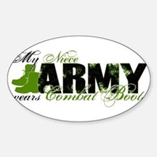 Niece Combat Boots - ARMY Decal