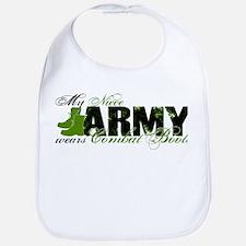 Niece Combat Boots - ARMY Bib