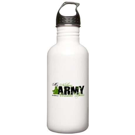 Nephew Combat Boots - ARMY Stainless Water Bottle