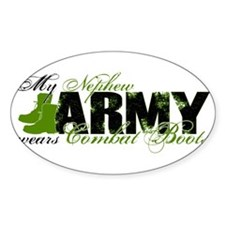 Nephew Combat Boots - ARMY Decal