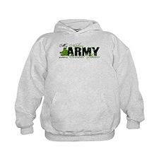 Nephew Combat Boots - ARMY Hoodie