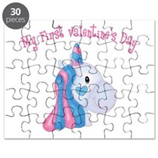 Unicorn 1st Valentine Puzzle