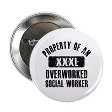 "Social worker designs 2.25"" Button"