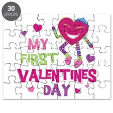 Funky 1st Valentine Puzzle