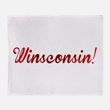 Winsconsin! Putting the WIN i Throw Blanket