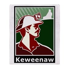 Keweenaw Heritage Throw Blanket