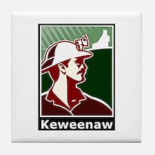 Keweenaw Heritage Tile Coaster