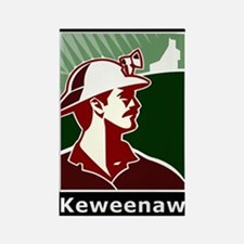 Keweenaw Heritage Rectangle Magnet