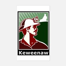 Keweenaw Heritage Sticker (Rectangle)