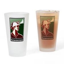 Keweenaw Heritage Drinking Glass