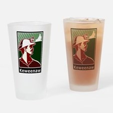 Keweenaw Heritage Drinking Glass