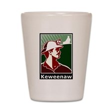 Keweenaw Heritage Shot Glass