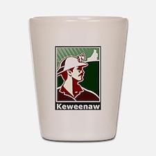 Keweenaw Heritage Shot Glass