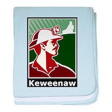 Keweenaw Heritage baby blanket