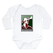 Keweenaw Heritage Long Sleeve Infant Bodysuit