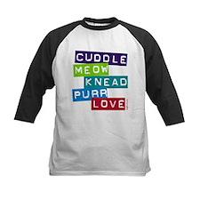 Cuddle Meow Knead Purr Love Tee