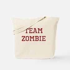 Team Zombie Tote Bag
