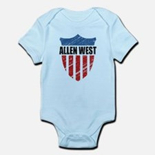 Allen West Shield Infant Bodysuit