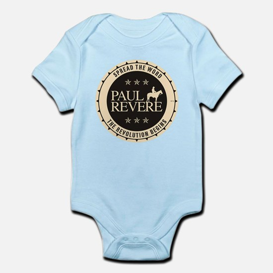Paul Revere Infant Bodysuit