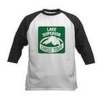 Lake Superior Circle Tour Kids Baseball Jersey