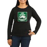 Lake Superior Circle Tour Women's Long Sleeve Dark