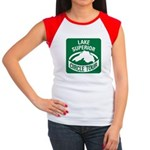 Lake Superior Circle Tour Women's Cap Sleeve T-Shi