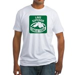 Lake Superior Circle Tour Fitted T-Shirt